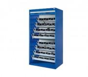 Armoire d'atelier grand volume - Dimensions (H x l x P) : 1950 x 1005 x 720 mm