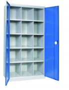 Armoire d'atelier haute 40 cases - Nombre de cases : 10 - 15 - 40
