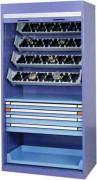 Armoire d'atelier haute 800 x 695 mm - Dimensions: L 800 x P 695 x H 1000 mm