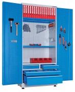 Armoire d'atelier mécano-soudé - L : 1000mm – P : 550mm – H : 200mm