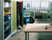 Armoire d'atelier tiroir et tablette