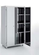 Armoire d'entretien et balais - Dimension  : Jusqu'à 1000 x 450 x 1900 mm