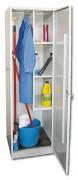 Armoire d'entretien H 1800 mm - Dimensions extérieures (L x P x H) mm : 500 x 500 x 1800
