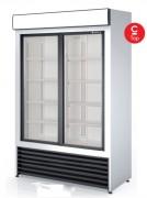 Armoire d'exposition réfrigérée - Capacité  (L) : De 750 à 1750–  2 ou 3 portes vitrées