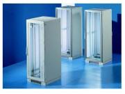 Armoire de brassage - Largeur : 600 à 800 mm - Hauteur : 1200 + 100 - 2200 + 100 mm