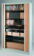 Armoire de bureau à rideaux - Gamme déclinée en 5 hauteurs
