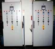 Armoire de contrôle / commande Brûleur industriel - Démarrage et contrôle de flamme - Système de régulation et de supervision du process
