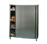 Armoire de cuisine à porte coulissantes - Dimensions : 1200 x 600 x 2000 - 1400 x 600 x 2000 mm