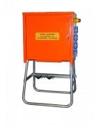 Armoire de distribution électrique pour chantier - Dimensions (L x P x H) mm : 420 x 300 x 450  - 7 socles de tableau