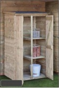 Armoire de jardin en bois - 1 ou 2 portes