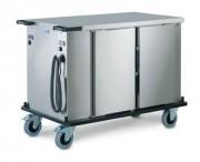 Armoire de maintien en température sur roulettes - Dimensions 1103 x 737 x 1015 mm -