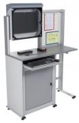 Armoire de protection informatique métallique - Matière : aluminium et métal - Composée de deux coffrets