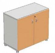 Armoire de rangement 1 tablette - Dimensions (L x Px H): 80 x 41 x 70 cm
