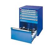 Armoire de rangement à tiroirs - Dimensions (H x l x P) : 1000 x 805 x 695 mm