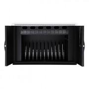 Armoire de recharge 12 tablettes et PC portables - Box de recharge compact, modulable, sécurisé et robuste