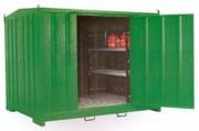 Armoire de rétention DMS - Rétention du plancher de 1250 litres