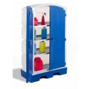 Armoire de rétention en polyéthylène - Capacité par plateau : 40 litres