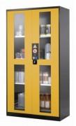 Armoire de sécurité 2 portes - Volume de l'armoire : 1065 Litres - Portes vitrées