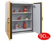 Armoire de sécurité coupe-feu 90 mn - 2 portes - Volume de stockage conseillé : 145 L