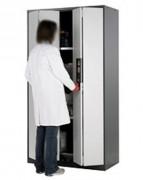 Armoire de sécurité portes pliables - Volume: 1065 litres - En acier