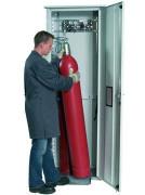 Armoire de sécurité pour bouteilles de gaz L 135 cm - Jusqu'à 5 bouteille(s) de gaz de 50 litres