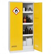 Armoire de sécurité pour produits inflammables avec rétention de 122 L - Volume de stockage conseillé : 300 L