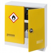 Armoire de sécurité pour produits inflammables avec système d'extinction - Volume de stockage conseillé : 150 L