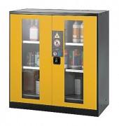 Armoire de sécurité pour stockage produits dangereux - Dimensions (l x p x h) :1055 * 520 * 1105 mm