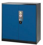 Armoire de stockage à portes pleines - Charge admissible du caillebotis : 100 kg - Portes pleines