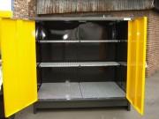Armoire de stockage avec rétention - Capacité de rétention : 300 litres