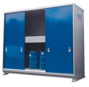 Armoire de stockage de produits dangereux - Capacité de rétention : 2 x 1500 litres