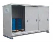 Armoire de stockage DMS - Capacité de rétention : 1500 litres