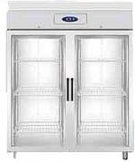 Armoire de stockage double portes à 6 clayettes - Capacité (L) : 1410