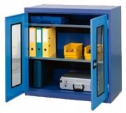 Armoire de stockage en tôle - Dimensions (L x P x H) mm : 1000 x 500 x 1000 - 1000 x 500 x 1950