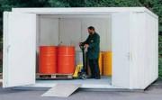 Armoire de stockage isolé - Hauteur standard : Ext 2520 mm - Int 2200 mm