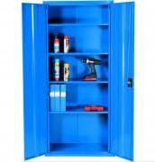 Armoire de stockage polyvalente - En acier - Hauteur: 1800 mm - Bleue ou grise