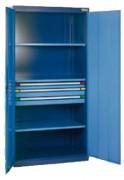 Armoire de stockage pour charges lourdes - Dimensions (L x P x H) mm : 1000 x 600 x 1000 - 1000 x 600 x 1950