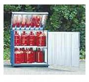 Armoire de stockage pour petites bouteilles à gaz - Charge admissible par niveau : 375 kg