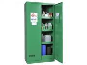 Armoire de stockage pour phytosanitaires - Armoire de stockage avec rétention (122 L) - Armoire haute 2 portes - Poids : 78 kg