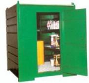 Armoire de stockage produits polluants - Plancher de rétention : 700 L
