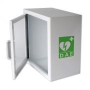 Armoire défibrillateur avec alarme - Dimensions extérieures (LxHxP) : 360 x 360 x 200 mm
