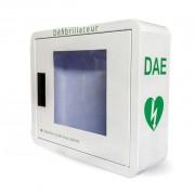 Armoire défibrillateur en métal - Armoire intérieure   -   Avec alarme