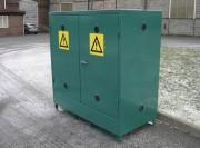 Armoire DMS avec rétention 260 litres - Volume de stockage : 1.7 m3