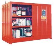 Armoire DMS avec rétention 900 Litres - Volume de stockage 12.50 m³