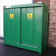 Armoire DMS de rétention 450 litres - Plancher de rétention : 450 L