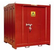 Armoire DMS de stockage avec rétention - Rétention au niveau du plancher de 700 litres