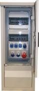 Armoire électrique pour place de marché - Dimensions (H x L x P) : 1200 x 465 x 360 mm - Nombre de prises : 4