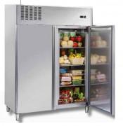 Armoire frigorifique de stockage positive - Inox - Froid positif : 2 / + 8 °C