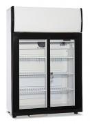 Armoire froide positive vitrée - Capacité : 90L - 2 portes