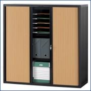 Armoire gamme multibloc à tablettes réglables - Dimensions armoire gamme multibloc (L x H x P) cm : 103,6 x 130 x 40